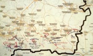 Novorusko mapa